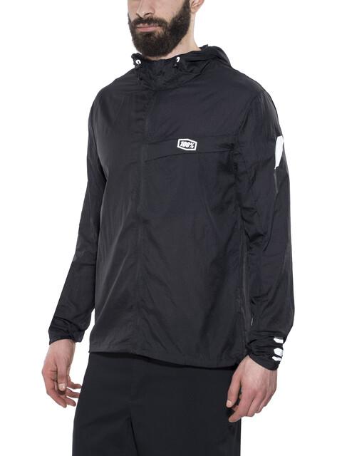 100% Aero Tech Windbreaker Jacket Men black